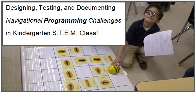 Kindergarten STEM Lessons: Learning & Applying Programming Concepts