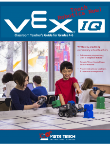 VEX IQ Curr Cover Page