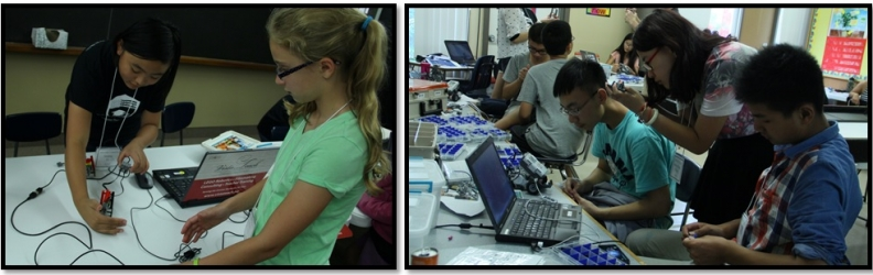 International Summer Camps: Robotics + Chinese/American Cultural Immersion